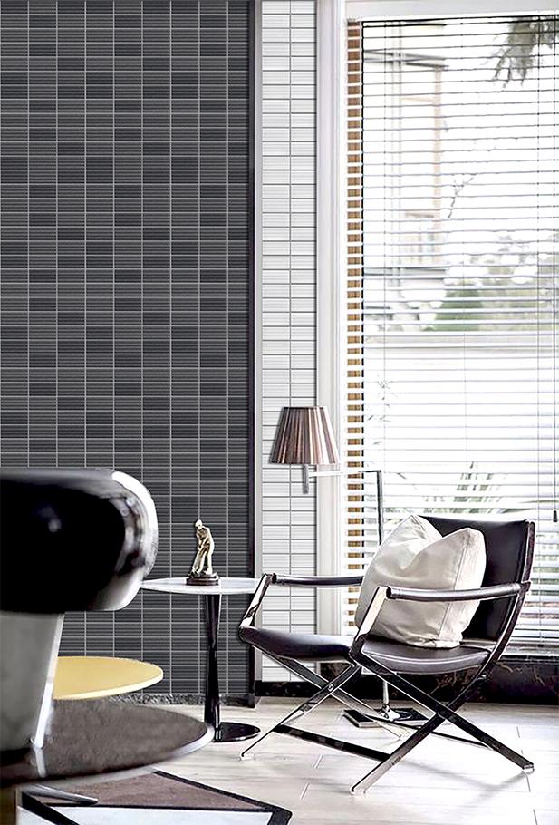 Không gian nội thất ốp gạch Wavy Mosaic mang lại cảm giác thư thái cho người sử dụng. Ảnh: INAX