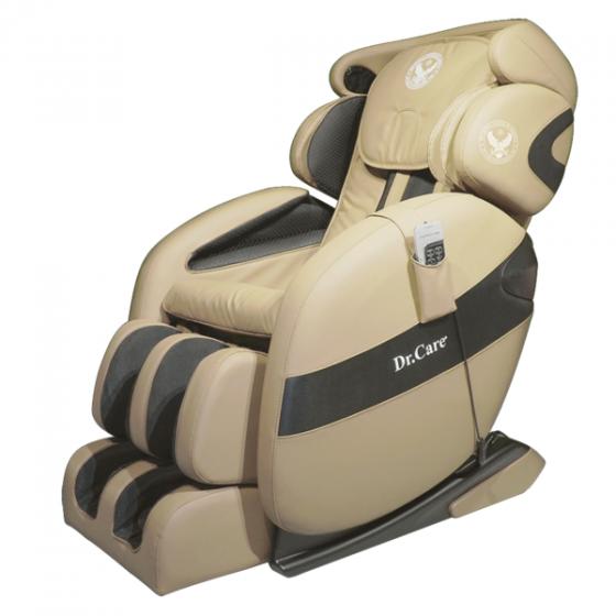 Ghế massage Dr.Care Xreal MC912 giảm 50% còn 42 triệu đồng; khối lượng 108 kg, kích thước 175 x 75 x 87 cm; thiết kế theo mẫu ghế dành cho phi hành gia, cung cấp chế độ massage 4 chiều, trang bị hệ thống con lăn, túi khí xoa bóp, đấm bóp di chuyển từ đỉnh đầu đến bên dưới vùng mông đùi theo hình chữ L và bấm huyệt lòng bàn chân. Ngoài massage, ghế có chức năng xông nóng kiểu spa lan tỏa toàn thân.Ghế kết nối không dây với dàn âm thanh Hi-Fi hiện đại giúp nâng cao khả năng thư giãn. Các chế độ massage có thể điều khiển bằng remote hoặc qua app trên điện thoại với phiên bản tiếng Việt.