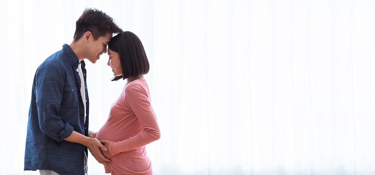 Triệu chứng nghén xuất hiện ở những người đàn ông thường được xem là yêu vợ, đồng cảm với vợ. Ảnh: Shutterstock.