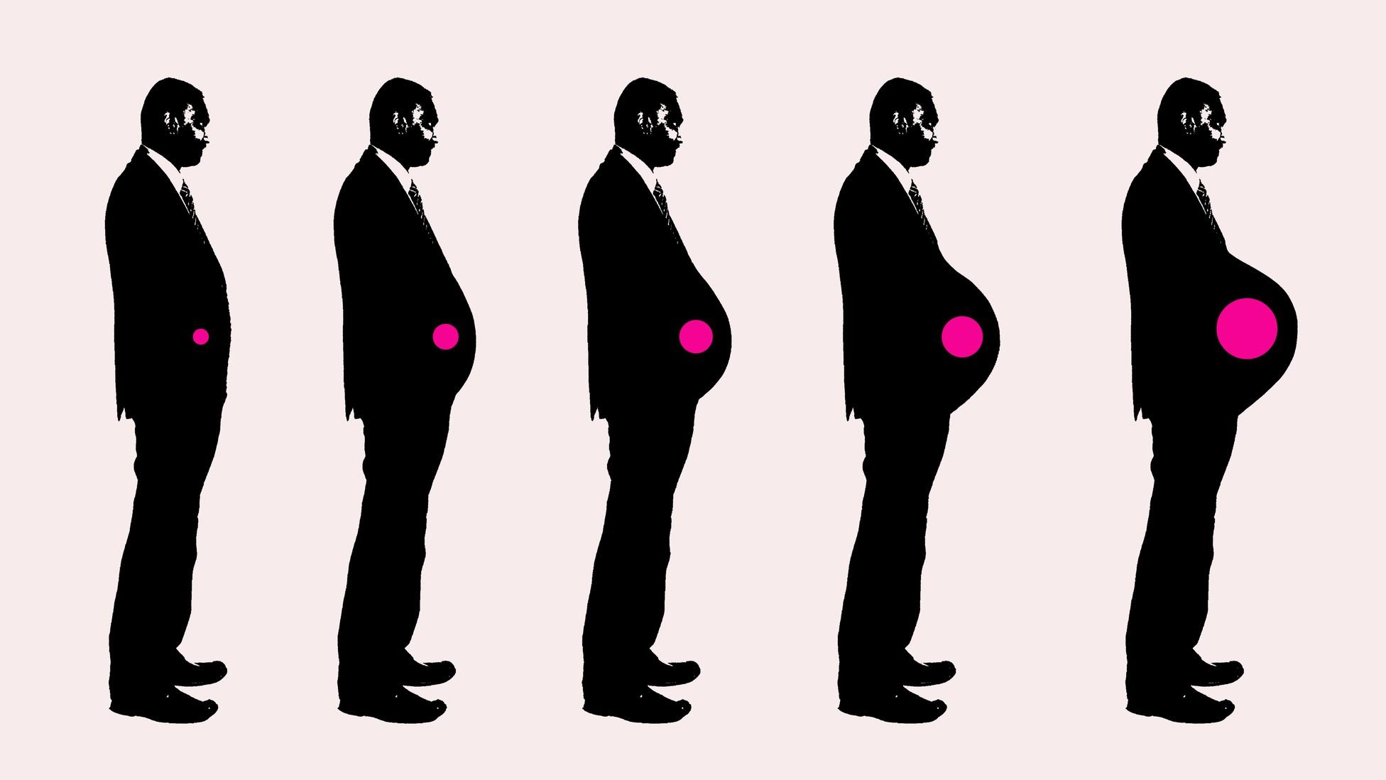 Mặc dù chưa có những nghiên cứu rõ ràng nhưng nam giới bị ảnh hưởng lúc vợ mang thai. Ảnh: Atlantic.