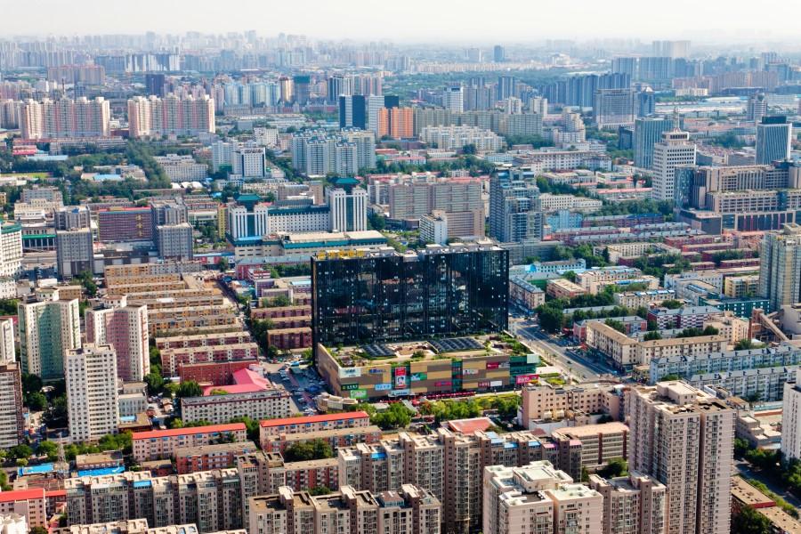 Thành phố Hải Điến nhìn từ trên cao. Ảnh: Thinkchina.