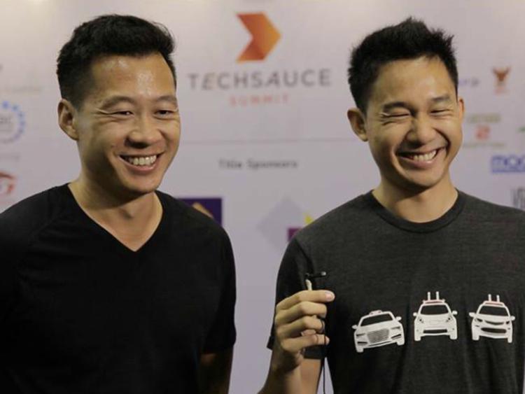Hai anh em Justin Kan và Danie Kan. Ảnh: businessinsider.