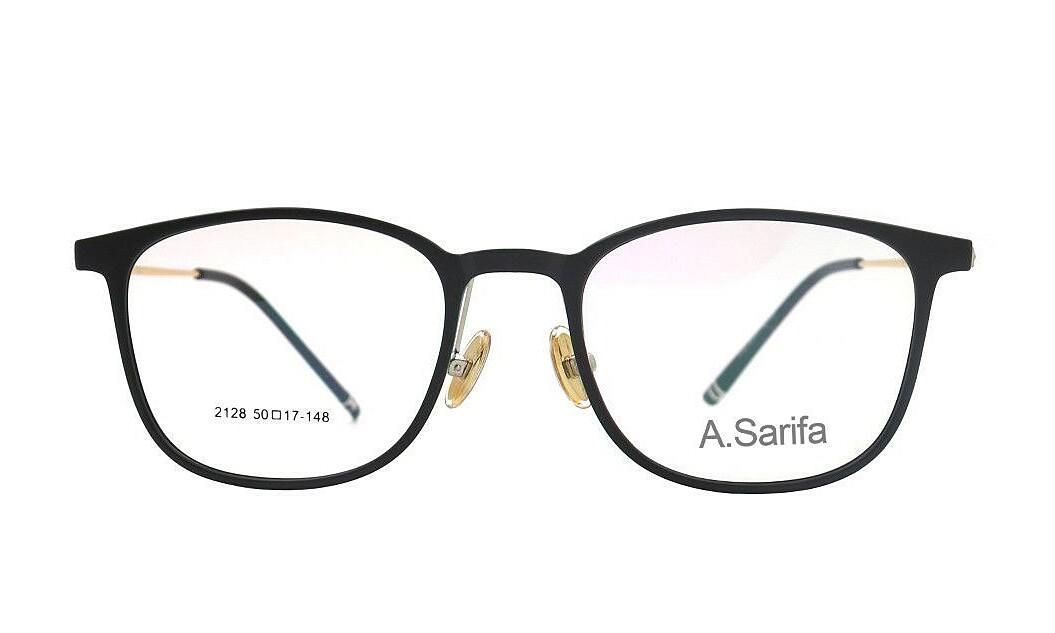 Gọng kính Sarifa 2128 C20 làm từ chất liệu plastic và hợp kim titanium, Đệm mũi rời. Mắt kính rộng 50 mm, cầu kính rộng 17 mm, càng kính dài 148 mm. Sản phẩm đang được ưu đãi 48% còn 269.000 đồng.