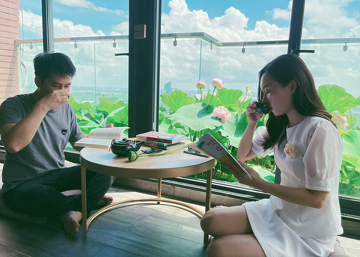 Vợ chồng Thanh Tùng -