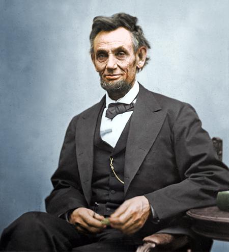 Tổng thống thứ 16 của nước Mỹ, Abraham Lincoln. Ảnh: wordpress.com