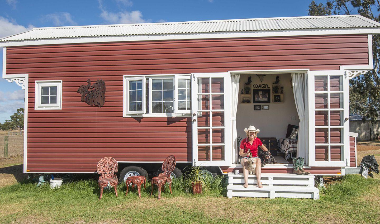 Ngôi nhà của của Ingrid đặt tên là Tiny Tootz. Ảnh: Ingrid Stanway.