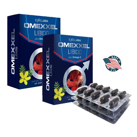 Combo 2 hộp Omexxel Libido (60 viên) 598.000đ (- 50 %) góp phần hỗ trợ tăng cường sinh lý cho nam giớiSản phẩm không phải là thuốc, không có tác dụng thay thế thuốc chữa bệnh. Giấy phép quảng cáo số 02270/2019/ATTP-XNQC do Cục An toàn thực phẩm, Bộ Y tế cấp ngày 6/11/2019.