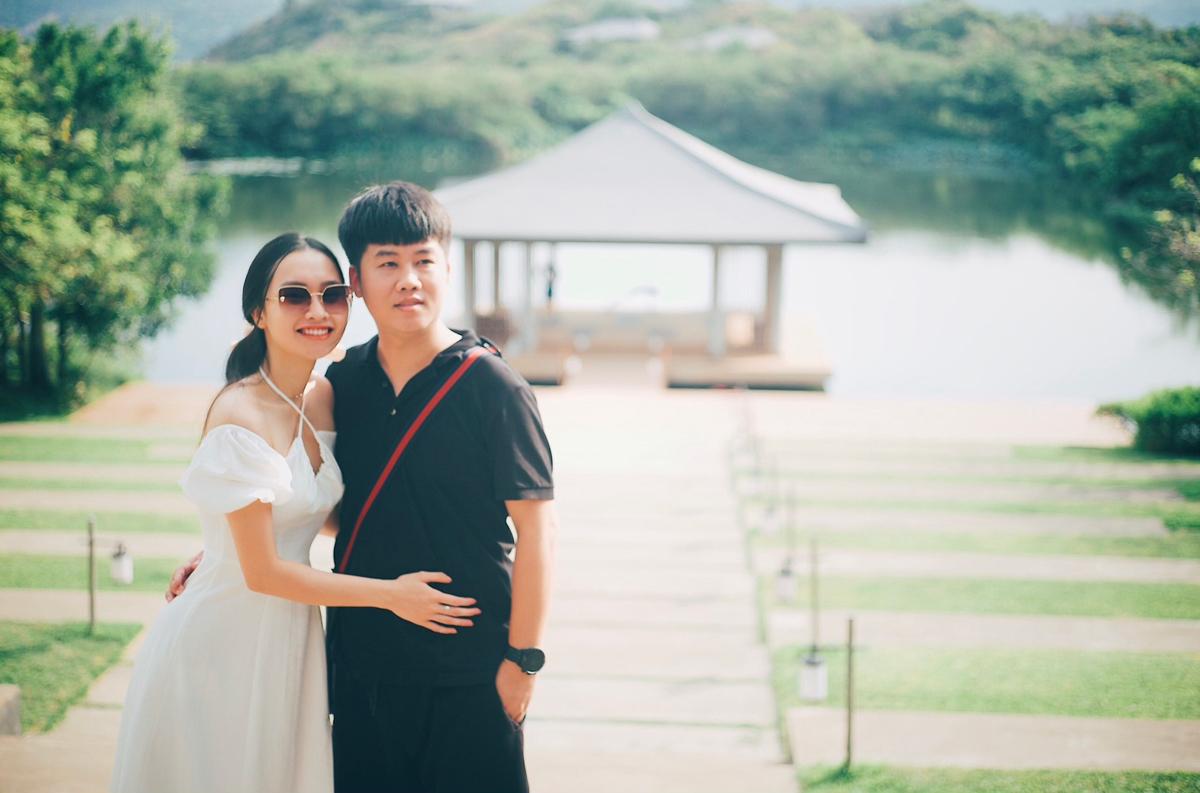 Sau khi nghỉ việc, Tùng quen vợ mình cuối năm 2019 và kết hôn đầu năm 2021. Ảnh: Nhân vật cung cấp.
