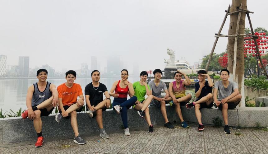 Thời điểm dịch chưa bùng phát, Make Runner Great thường xuyên tổ chức các hoạt động cho Runners. Ảnh: NVCC