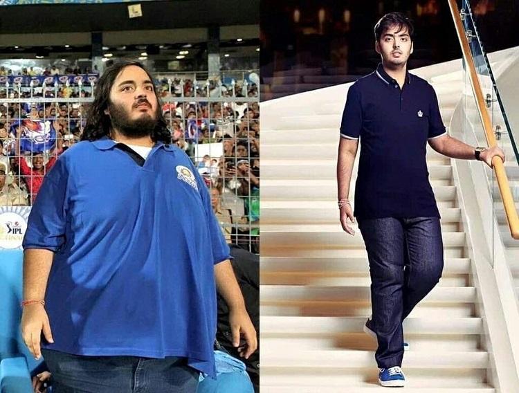 Sự biến đổi khi giảm cân của Anant Ambani. Ảnh: @anantambanifc /Instagram