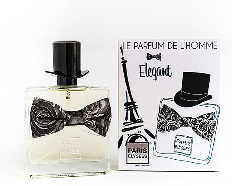 Nước hoa Paris Elysees Le Parfum De Lhomme Elegant màu trắng thuộc nhóm hương gỗ, hương thơm, được đánh giá có khả năng khơi dây sự tinh tế trang nhã của người sử dụng. Hương đầu là sự kết hợp của cam Bergamot, hương biển, lá đại hoàng hoa. Hương giữa là oải hương, cây xô thơm, gừng. Cuối c Hương cuối là xạ hương trắng, gỗ đàn hương, hương rêu. Lọ 100 ml đang được ưu đãi 36% còn 699.000 đồng.