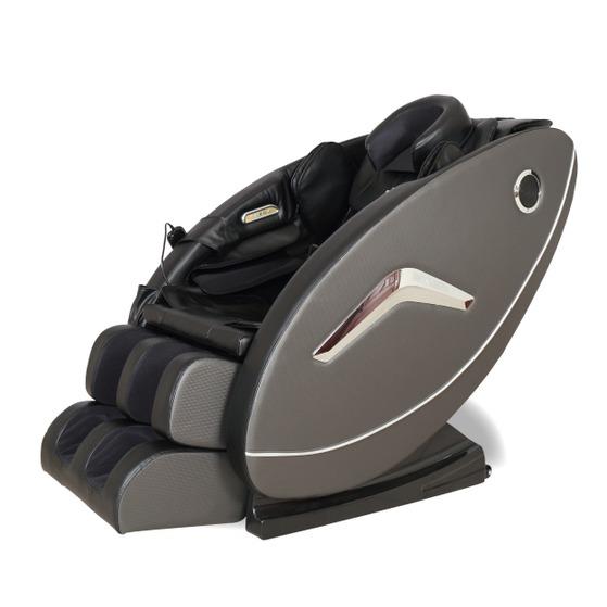 Ghế massage Elip Rhodi màu đen giảm 37% còn 26,9 triệu đồng; chất liệu da; trang bị con lăn theo công nghệ 3D massage nhẹ nhàng, êm ái đến các huyệt đạo. Ghế vận hành nhịp nhàng, không gây tiếng ồn. Ứng dụng công nghệ túi khí massage toàn thân với chức năng xoa bóp nhẹ nhàng trên cơ thể với tổng số 108 túi massage từ đầu đến chân, trong đó có túi massage tại vùng chân. Các vị trí massage túi khí gồm đầu, vai, hông, tay, bắp chân và bàn chân...