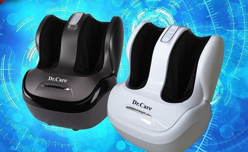 Máy massage chân Dr.Care DR-FM333 có giá giảm 47% còn 7,99 triệu đồng (giá gốc 15 triệu đồng). Máy làm từ vật liệu ABS composite, nhẹ, chịu nhiệt lên đến 3.000 độ C cùng da PVC. Màn hình cảm ứng điều khiển massage tiện lợi. Kỹ thuật masage 3D rung, lăn, xoa, vuốt, miết, chà xát, cuộn tròn, ấn huyệt bắp chân và lòng bàn chân, giúp chăm sóc cả lòng bàn chân và ngón chân. Xông nóng bằng nhiệt tia hồng ngoại giúp giảm đau và kích thích lưu thông mạch máu.