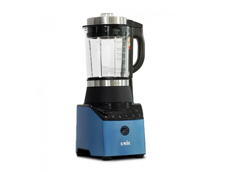 Máy làm sữa hạt Unie V3 có thân máy bằng nhựa, cối thủy tinh 5 lớp dung tích 1,75 lít, chịu được nhiệt độ đến 300 độ C. Công suất 1800 W, máy vừa xay vừa nấu với 6 chức năng chuyên sâu: soybean milk (sữa thảo mộc ), rice paste (cháo bột), porridge (cháo lợn gợn), juice (hoa quả), smoothie (sinh tố đá bào), grind (xay khô). Lưỡi dao bát giác 360° làm từ inox 304 có khả năng xay nghiền hạt siêu mịn. Sản phẩm đang được ưu đãi 31% còn 1,89 triệu đồng, ngoài ra tặng thêm ặng 3 bình thủy tinh UNIE UN-100.