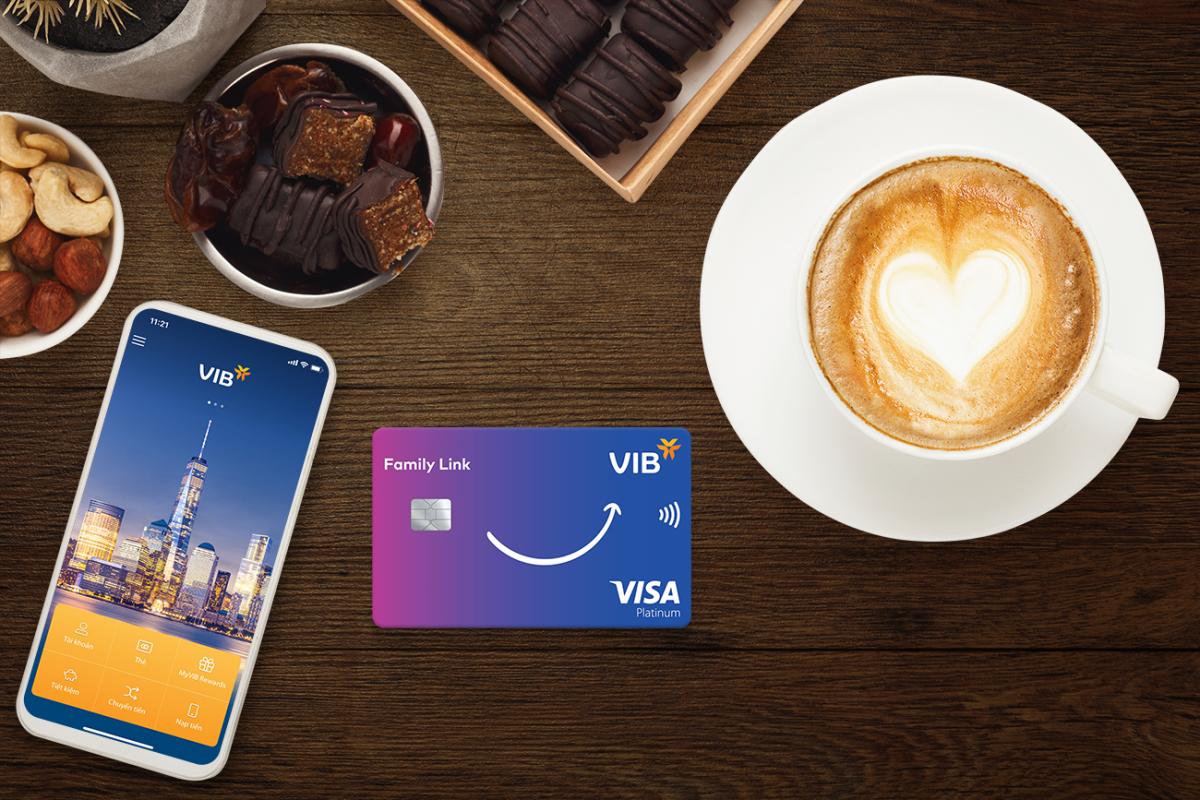 Thẻ tín dụng Family Link mang lại nhiều ưu đãi cho các giao dịch chi tiêu gia đình.